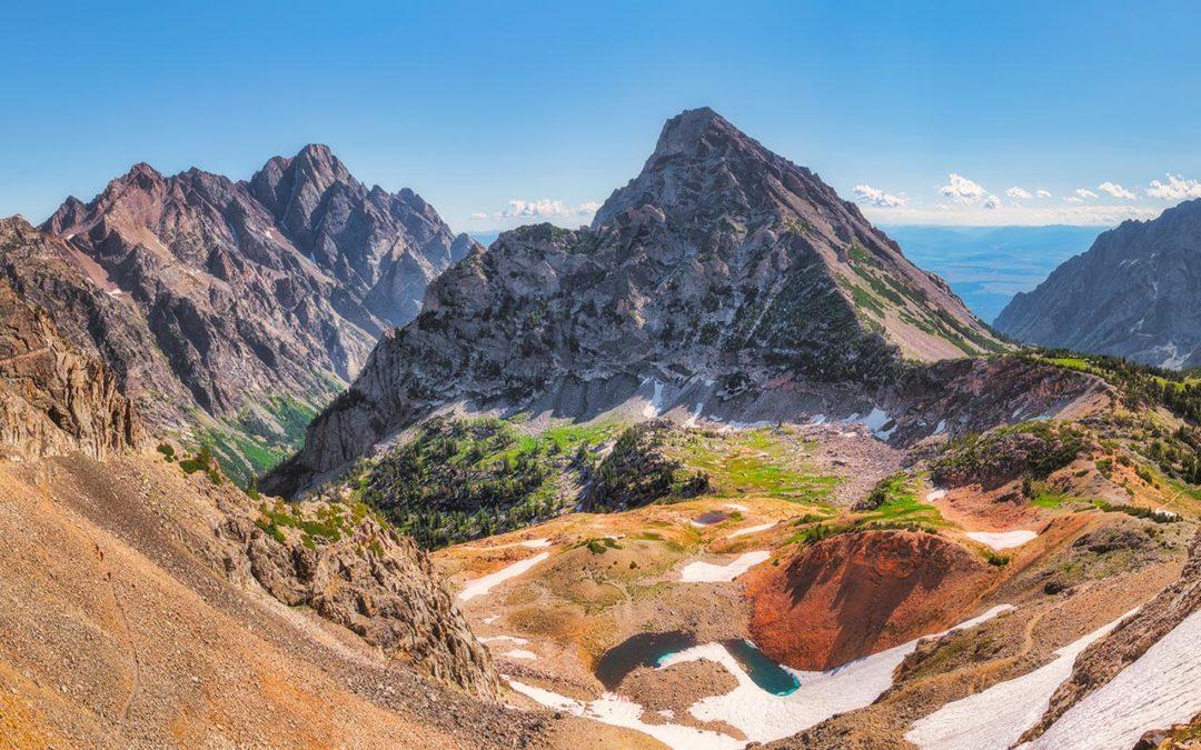 Teton Crest Trail, Day 4 – Paintbrush Divide