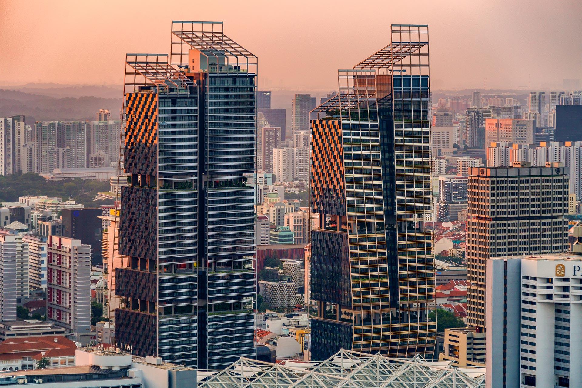 South Beach Towers, Singapore