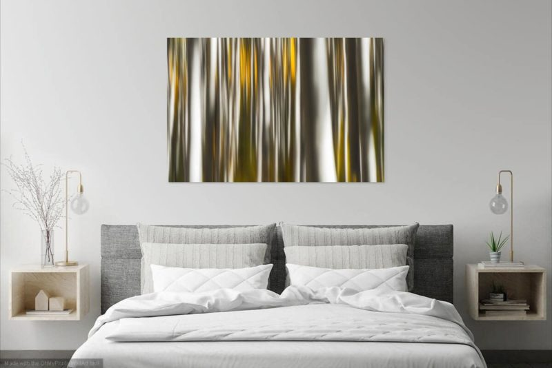 Aspens Beaver Creek Colorado Fire Prints Wall Art