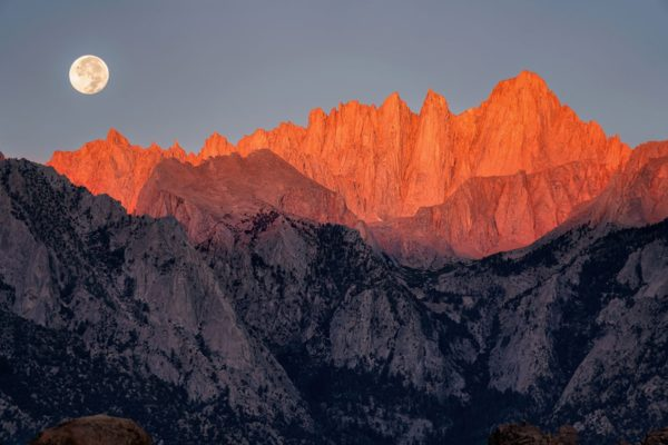 Mt Whitney California Fine Prints Wall Art