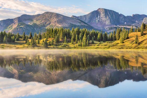 Snowden Peak Little Molas Lake Colorado Fine Prints Wall Art
