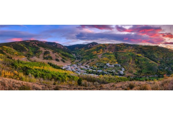 Beaver Creek Colorado Panorama Shop Fine Prints Wall Art