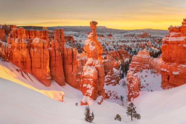 Thor's Hammer Sunrise Bryce Canyon National Park Utah Fine Prints Wall Art