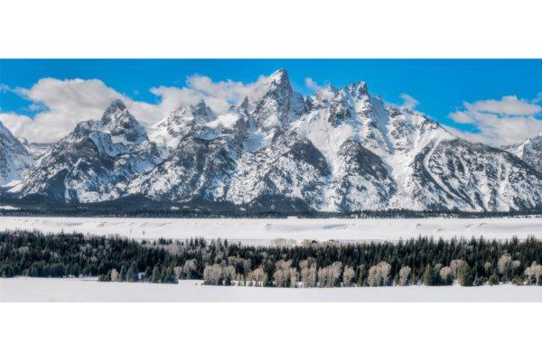Teton Winter Panorama Shop Fine Prints Wall Art