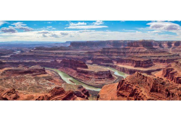Dead Horse Point Utah Panorama Shop Fine Prints Wall Art