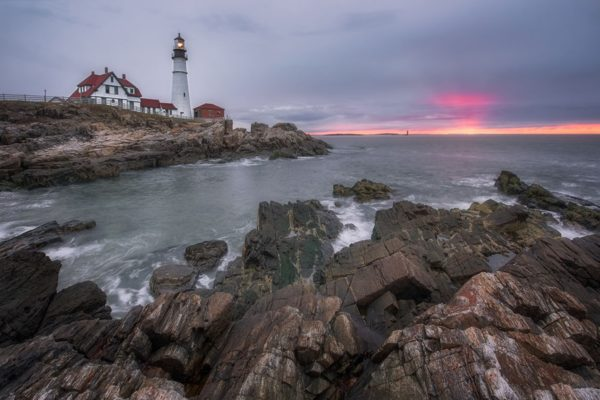 Portland Lighthouse Maine Fine Prints Wall Art