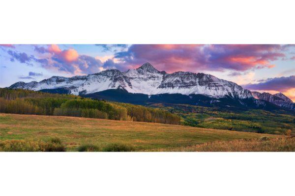 MT Wilson Peak Telluride Colorado Panorama Shop Fine Prints Wall Art