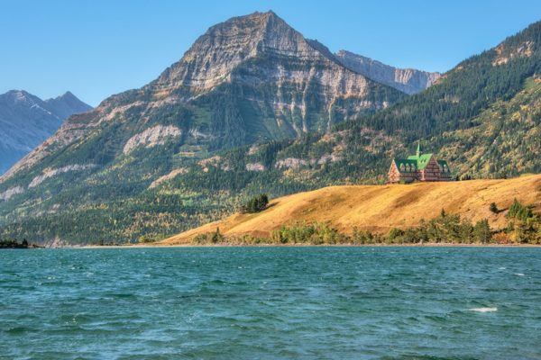 Prince of Wales Hotel Waterton Lakes Alberta Fine Prints Wall Art